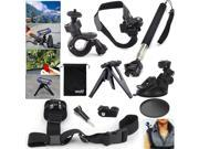 EEEKit for Ion Air Pro 2/3 Wi-Fi HD Monopod+Helmet/Suction/Shoulder Strap Mount
