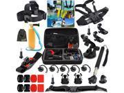 EEEKit Basic Accessories Bundle Kit for GoPro Hero 4/Black/Silver Hero 4/3+/3/2