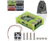 EEEKit Basic Kit for Raspberry Pi 2 and B+, 9 Layers Case Box+Cooling Fan+Pouch