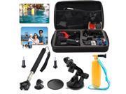 EEEKit GoPro Case Kit for GoPro Hero 4 Black/Siver Hero 3+ 3 2 Mount Accessories