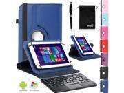 """EEEKit Office Kit 7"""" Tablet Wireless Bluetooth Keyboard W/ Touchpad+Cover Case"""