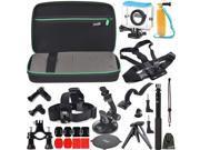 EEEKit Allin1 for Xiaomi Yi Camera,Carry Case+Waterproof Case+Accessories Mount Kit