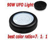 Wholesale 90W Triband UFO Hydroponic Panel LED Grow Light 7:1:1 Free Ship Grow Box Grow Tent Indoor Lamp