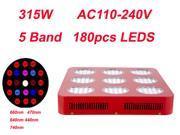 Wholesale Magic Led Efficient Grow Light 3w Bridgelux Chip Hydroponic Grow Box 315W Medical Plant Lighting