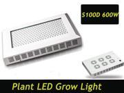 Aeroponic Hydroponics Grow Led Light 600 watt Medical Plant Panel Lamp Indoor Led Grow Light Kit ROB 7:1:1