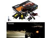 35W Xenon HID H3 4300K Head Light Bulbs Slim Ballasts Conversion Kit