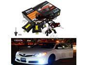35W Xenon HID H10 15000K Head Light Bulbs Slim Ballasts Conversion Kit