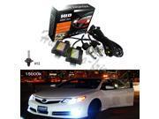 35W HID Xenon Bi-xenon Hi/Lo Conversion KIT Slim Ballast Bulb Headlight Lamp H13-H/L 15000K