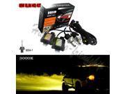 55W HID Xenon 9004-H/L 3000KBi-xenon Hi/Lo Conversion KIT Slim Ballast Bulb Headlight Lamp