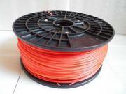 3D printer PLA Fluorescence Red 1.75mm Filament 1kg for Makerbot Reprap Mendel UP