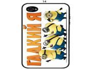 Cute Despicable Me Minions For Apple Iphone 4 4S iphone 4 4s Phone Cover/Case 14