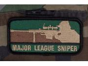 Mil-Spec Monkey Major League Sniper Patch Forest Green New Velcro Back