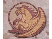 Mil-Spec Monkey Pegasus Unicorn Patch Desert New Velcro Back