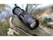 7W 400lm Mini UltraFire CREE Q5 LED Flashlight Torch ZOOMABLE Zoom Light Lamp 3 Mode SA3