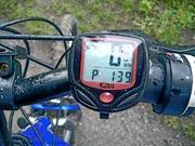 Waterproof LCD Display Bike Bicycle Cycling Computer Odometer Speedometer NR Clock