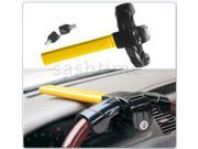 New universal anti theft car van security rotary steering wheel lock with 2 keys