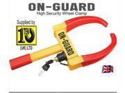 Anti Theft Car Wheel Tire Lock Clamp Security For Boat Trailer Car SUV ATV RV
