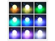 B22 3W 16 Colors Changing RGB LED Light Bulb Remote Control Color