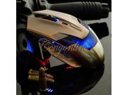 LED 6 Buttons 800/1200/2000 DPI Green Hornet USB  Gaming Optical Mouse Mice for Windows XP Vista Windows 7 8