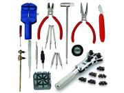 New 18Pc Watch Tool Kit Repair Strap Link Pin Remover Back Case Opener Wrench