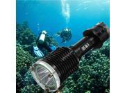New Diving Waterproof Scuba 18650 Flashlight UltraFire CREE XM-L T6 LED 2000LM(Diving Depth Of 80 Meters)