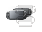 New Clear Full Body Front Back Screen Protector Film Guard for Sony PS Vita PSV