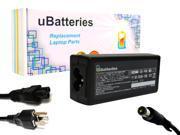 UBatteries AC Adapter Charger Compaq Presario CQ60-108TU  - 18.5V, 90W