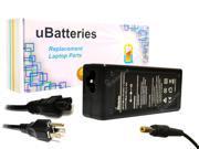 UBatteries AC Adapter Toshiba Satellite P50 P55 P500 P505 PA3516U-1ACA - 65W, 19V