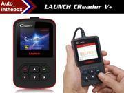 Professional OBDII Code Reader LAUNCH CReader V+ OBD2 Scan Tool Creader 5+ Free online update