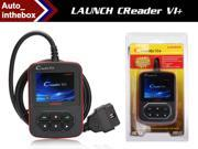 Launch Creader VI+ Auto Code Reader communicates with all OBD2/CAN
