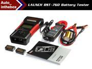 Launch BST760 Battery Tester Built-in thermal printer Suitable for 6V/12V battery system and 12V/24V starting and charging system