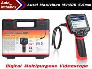 Autel Maxivideo MV400 Multipurpose Digital Videoscope with 5.5mm Diameter Imager Head