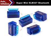 SUPER MINI ELM327 Bluetooth OBD2 V1.5 Smart Car Diagnostic Interface ELM 327 Wireless Scan Tool