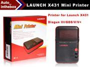 launch X431 Mini Printer for LAUNCH X431 Diagun III/X431 PRO/X431 V/V+/X431 GDS With Bluetooth Connection