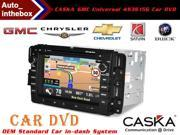 "CASKA 4S3615G Car In-Dash DVD Receiver for GMC/Chevrolet Silverado/Chevrolet/Buick/Saturn - 7 "" Touch Screen 800X480 GPS Navigation + Free Online Update Sygic Map in Life Time"