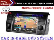 "CASKA Standard Car In-Dash DVD Receiver Navigation GPS for Toyota Tundra 7"" 800X480 Touch Screen + Builted in NAV with Sygic Map"