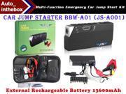 Caska BBW-A01 (JS-A001) Multi-Function Emergency Car Jump Start Kit with 13600mAh Source Power Bank