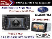 "CASKA Car DVD Player In-Dash System Suitable for Subaru XV 2012-2014 Vehicles - 7"" 800X480 Screen, Builted in NAV + Authorization Sygic Map"
