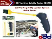 Original ADD TOOL Coil On Plug (COP) Ignition System COP Ignition Quickly Tester ADD750 battery-operated +  hand-held quick tester