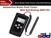 Original ADD TOOL Automotive brake fluid tester with self-setting ADD7704 test Standard  measuring  mode DOT3  DOT4  DOT5