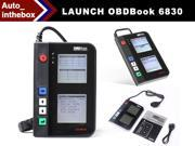 LAUNCH OBDBook 6830 OBDII&EOBD Code Reader Auto Scanner New large screen+ OBD book shape design + Free Update via the Internet + cover the latest cars