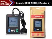 LAUNCH CODE TECH (Creader V+) OBDII/CAN Code Reader Codetech The easiest and best way to troubleshoot vehicles Upgrade online