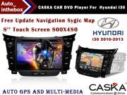CASKA CAR DVD Player CA392-KR7 fit for Hyundai i30 2010-2013 Car in-dash unit OEM GPS Navigation standard with free sygic map High quality auto GPS and multimedia