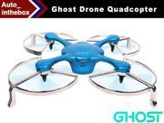 EHang Ghost Basic Drone Quadcopter Function FLY + EXPLORE + FILM Remote Flight control Smartphone operated Android Version - Blue Color