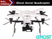 EHang Ghost Aerial Drone Quadcopter With 2D Brushless Camera Mount Gimbal Function FLY + EXPLORE + FILM Remote Flight control Smartphone operated Android Version - White Color
