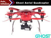 EHang Ghost Aerial Drone Quadcopter With 2D Brushless Camera Mount Gimbal Function FLY + EXPLORE + FILM Remote Flight control Smartphone operated Android Version - Red Color