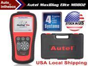 Autel Maxidiag Elite Md802 for 4 System with Data Stream Model Engine, Transmission, ABS and Airbag Code Scanner