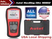 Autel MD802 Maxidiag Elite 4 in 1 Code Scanner (MD701+MD702+MD703+MD704) + Full System + DS Model Online Update