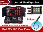 2015 Original Autel MaxiSys Pro MS908P OBD Full System Diagnostic /ECU Coding Programming System with J2534 ECU Preprogramming Box/VCI Model + free gift MaxiVideo MV108 8.5mm digital inspection camera