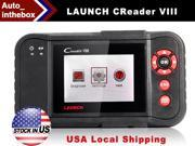 Launch Creader Viii Code Reader 8 Automotive Scan System Same Function of Launch Crp129 CRP 129 OBDII EOBD Auto Code Scanner (Engine,Transmission, ABS, and Airbag)
